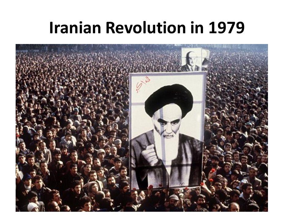 Iranian Revolution in 1979