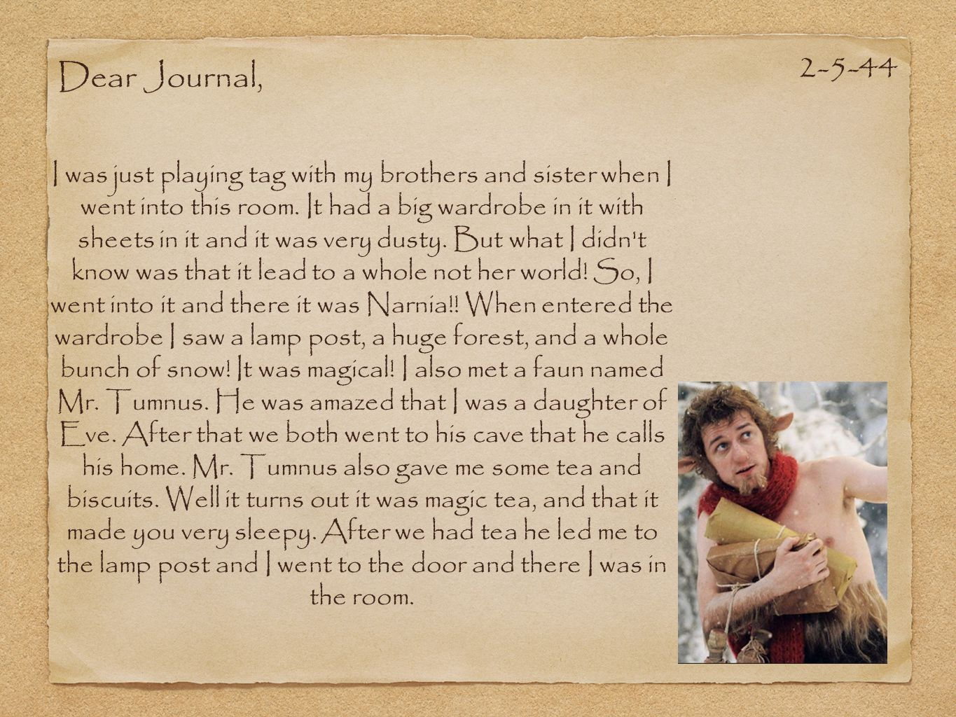 2-5-44 Dear Journal,