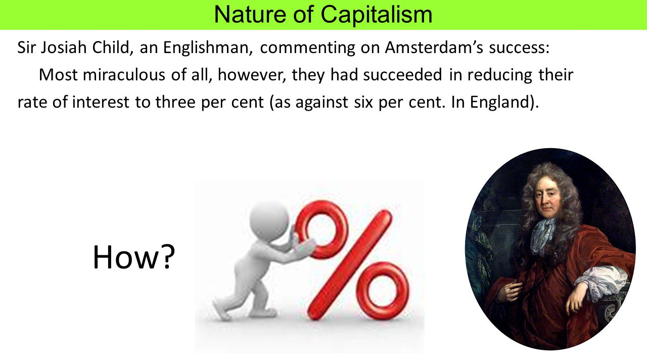 How Nature of Capitalism