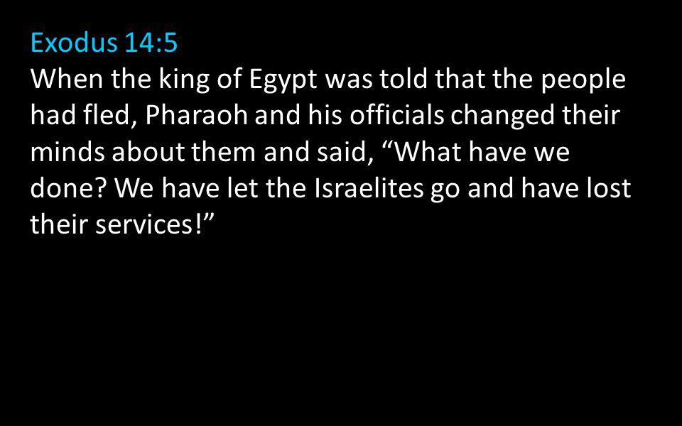Exodus 14:5