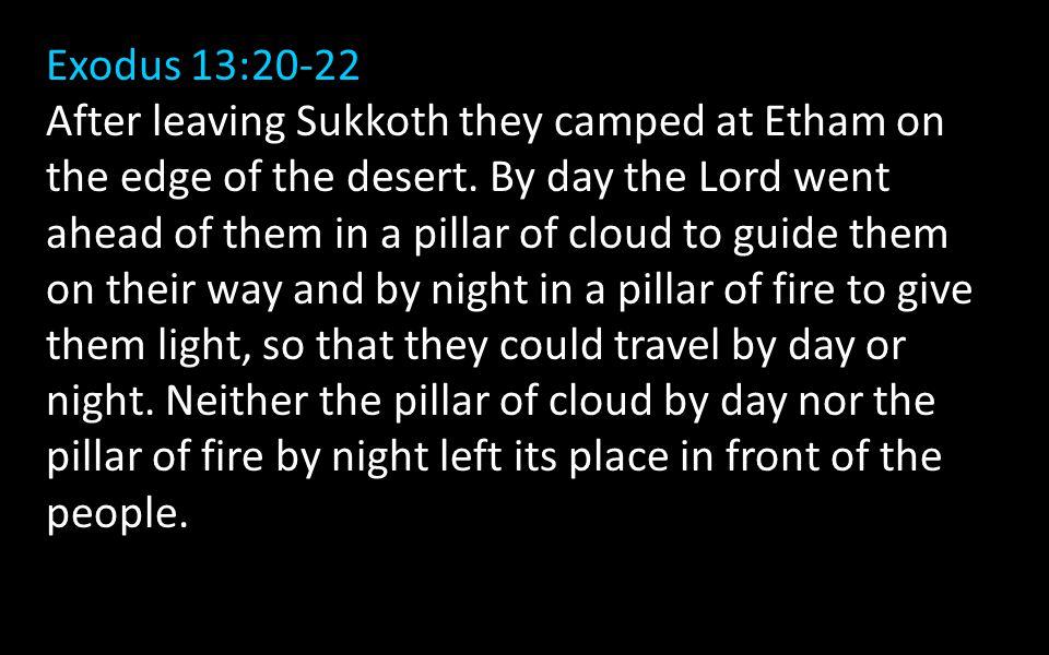 Exodus 13:20-22