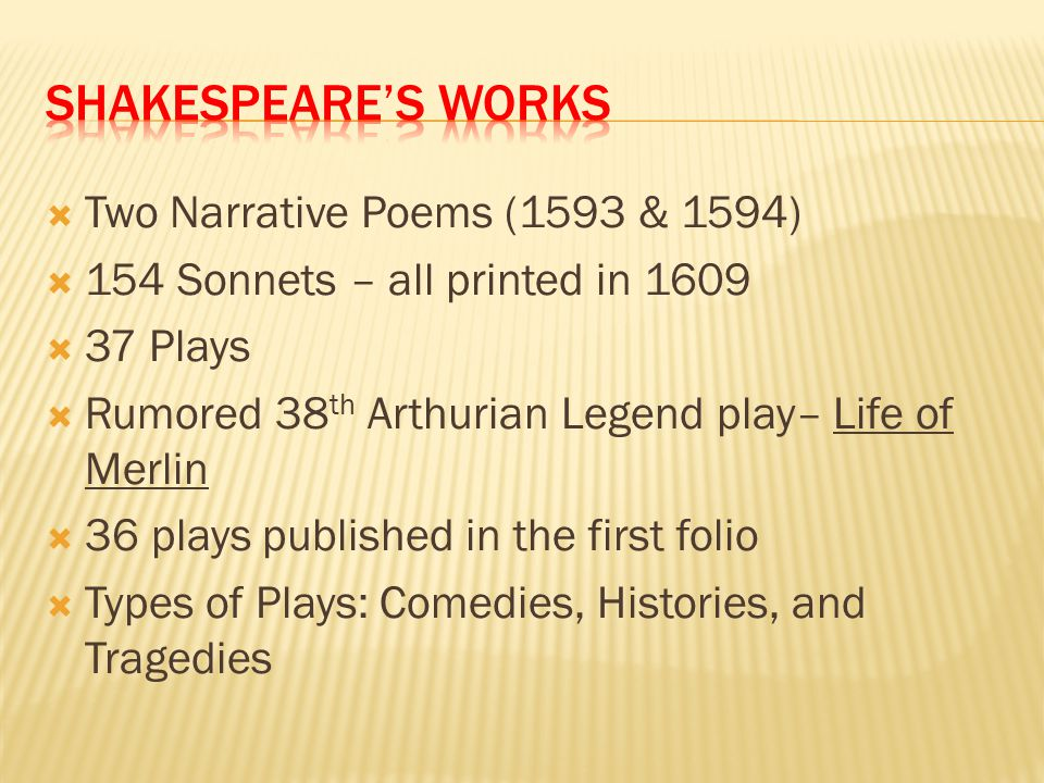 Shakespeare's works Two Narrative Poems (1593 & 1594)