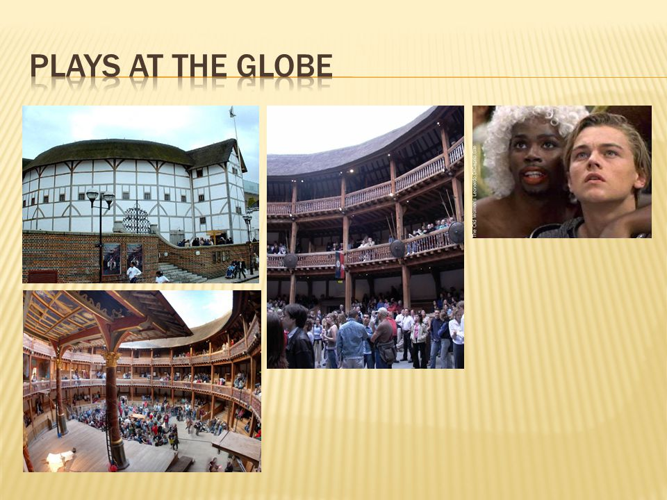Plays at the Globe