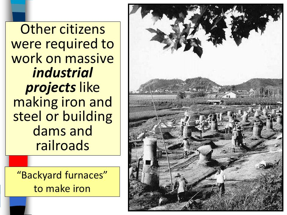 Backyard furnaces to make iron