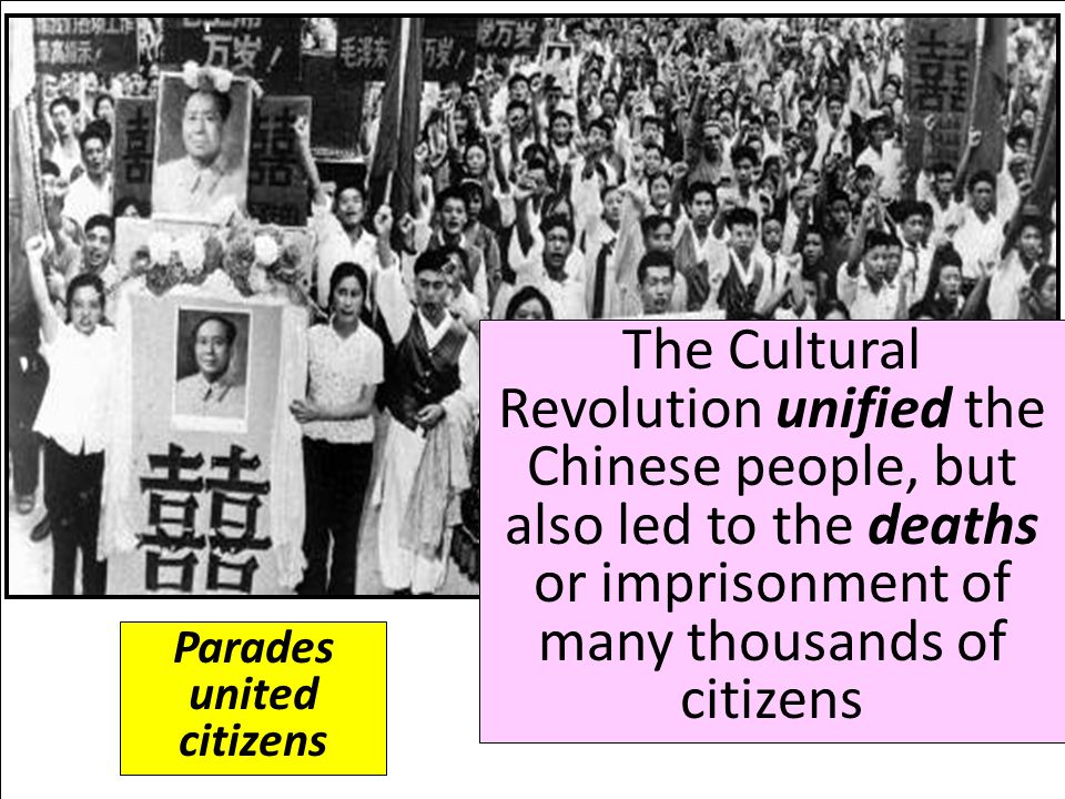 Parades united citizens