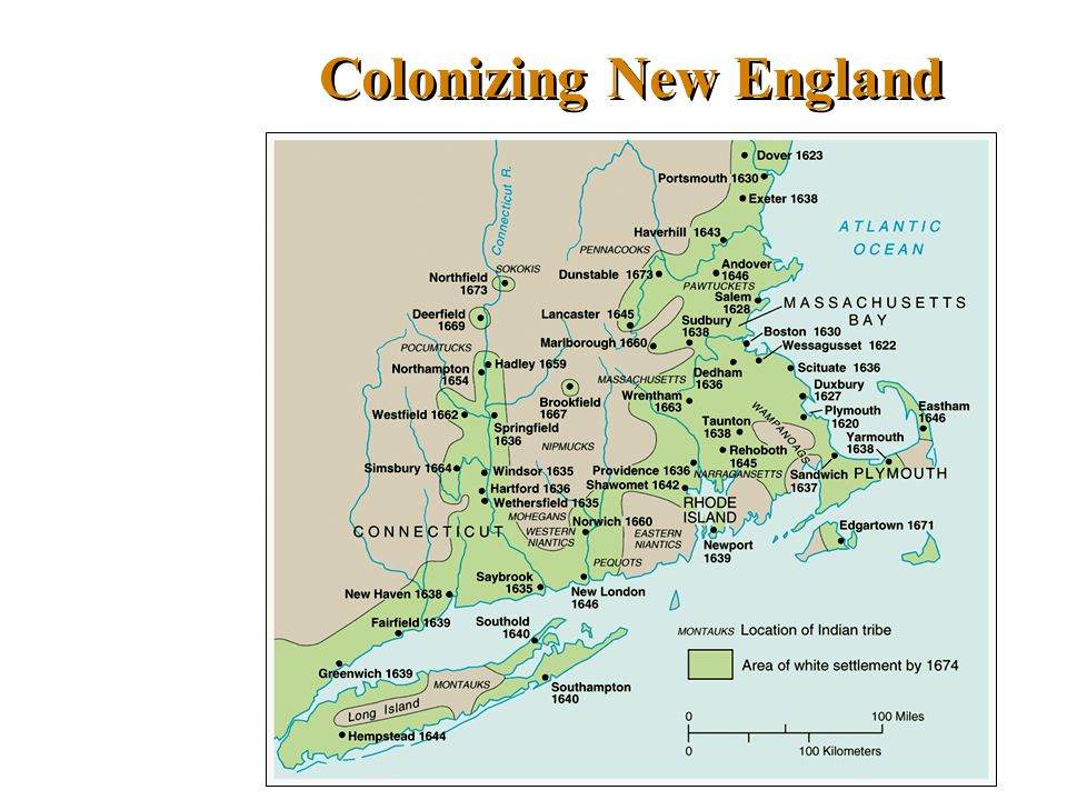 Colonizing New England