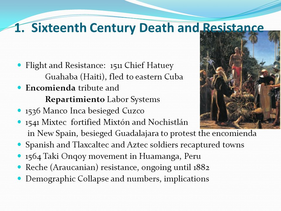 1. Sixteenth Century Death and Resistance