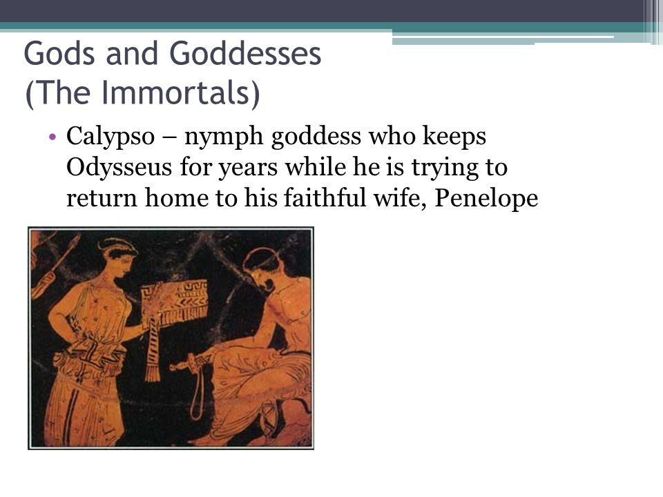 Gods and Goddesses (The Immortals)