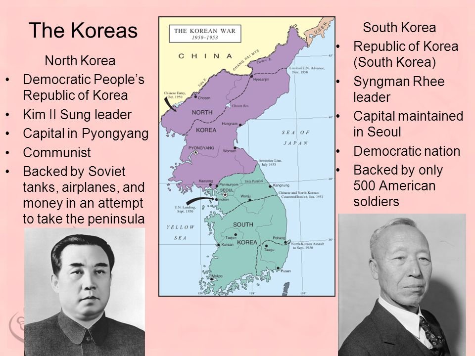 The Koreas South Korea Republic of Korea (South Korea)