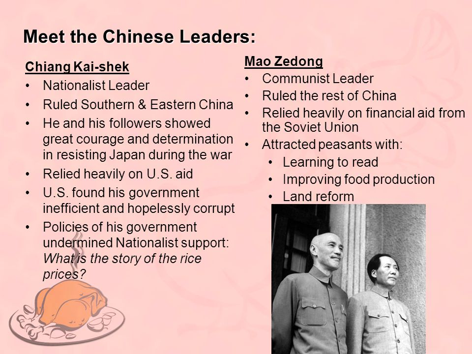 Meet the Chinese Leaders: