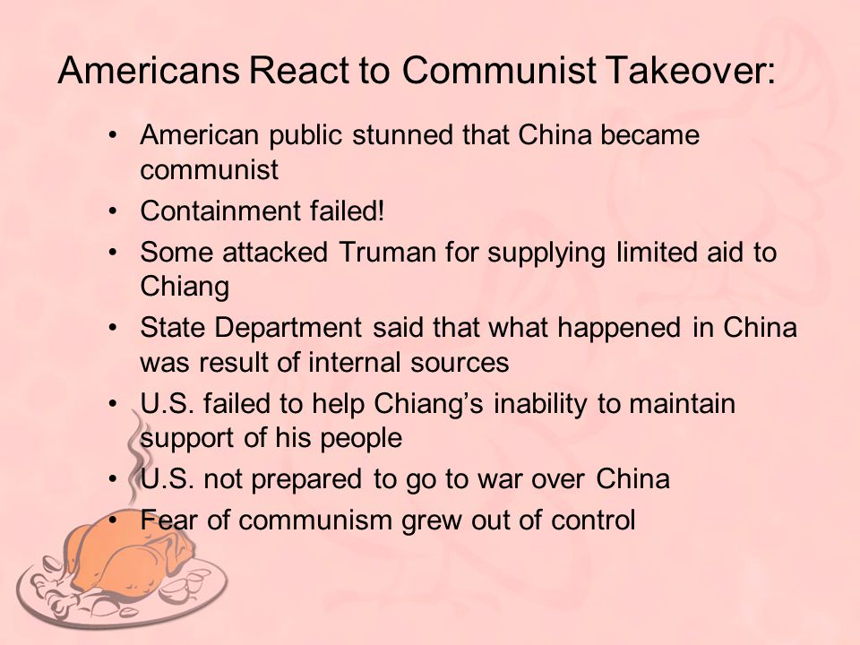 Americans React to Communist Takeover: