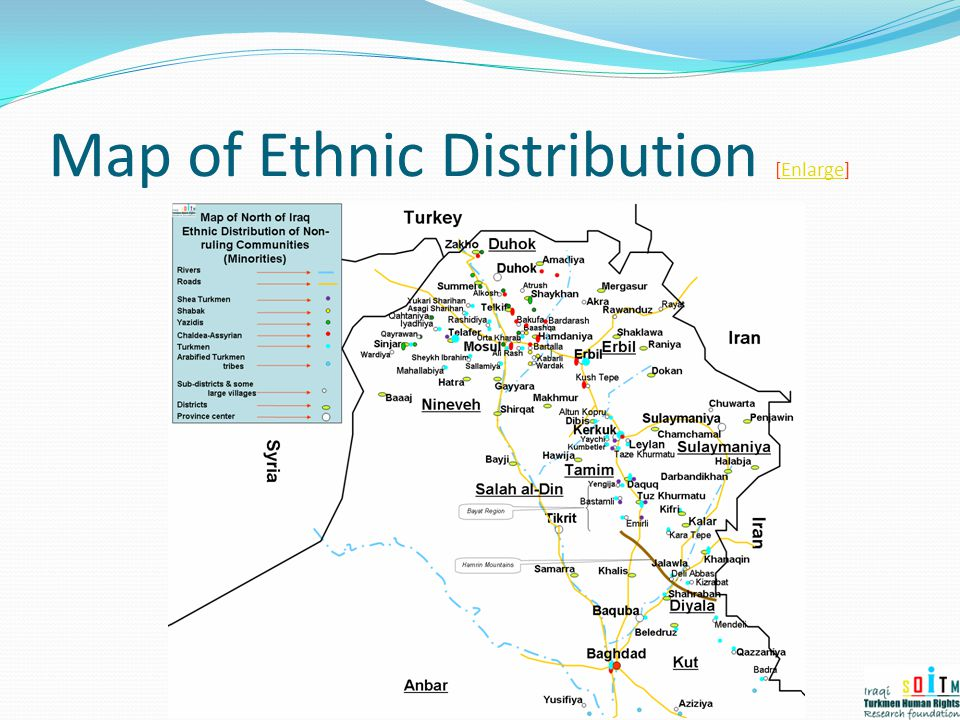 Map of Ethnic Distribution [Enlarge]