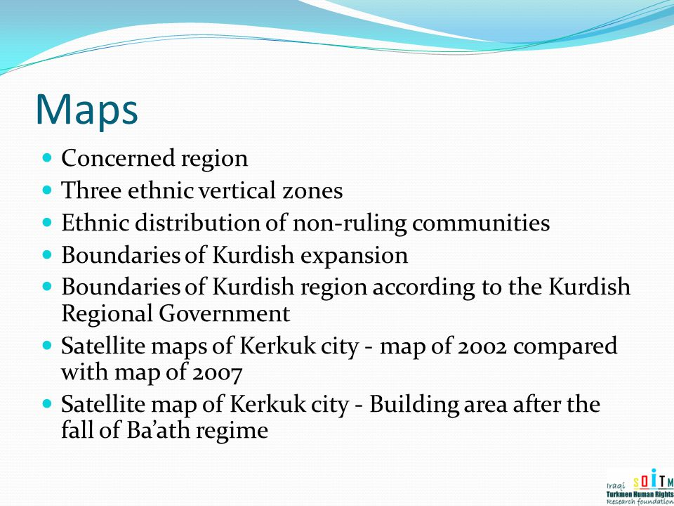 Maps Concerned region Three ethnic vertical zones