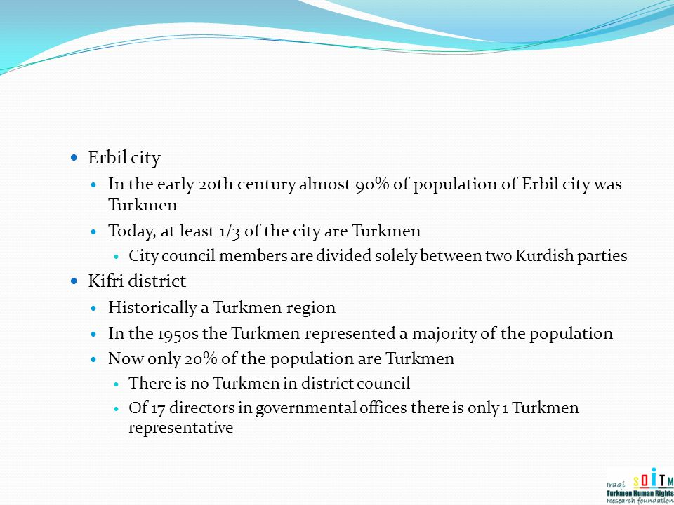 Erbil city Kifri district