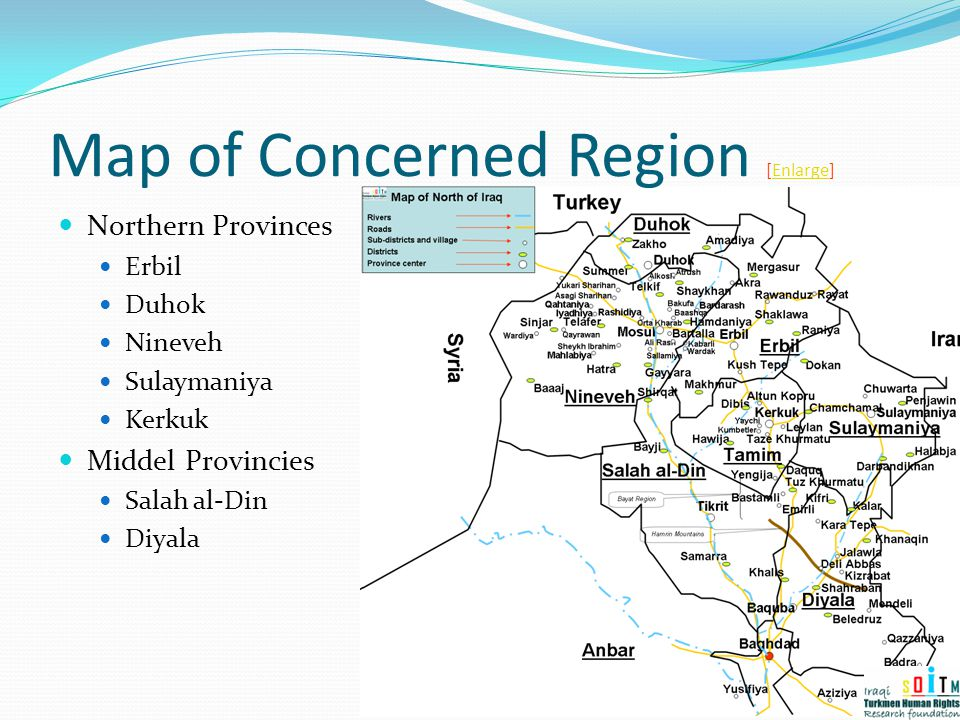 Map of Concerned Region [Enlarge]