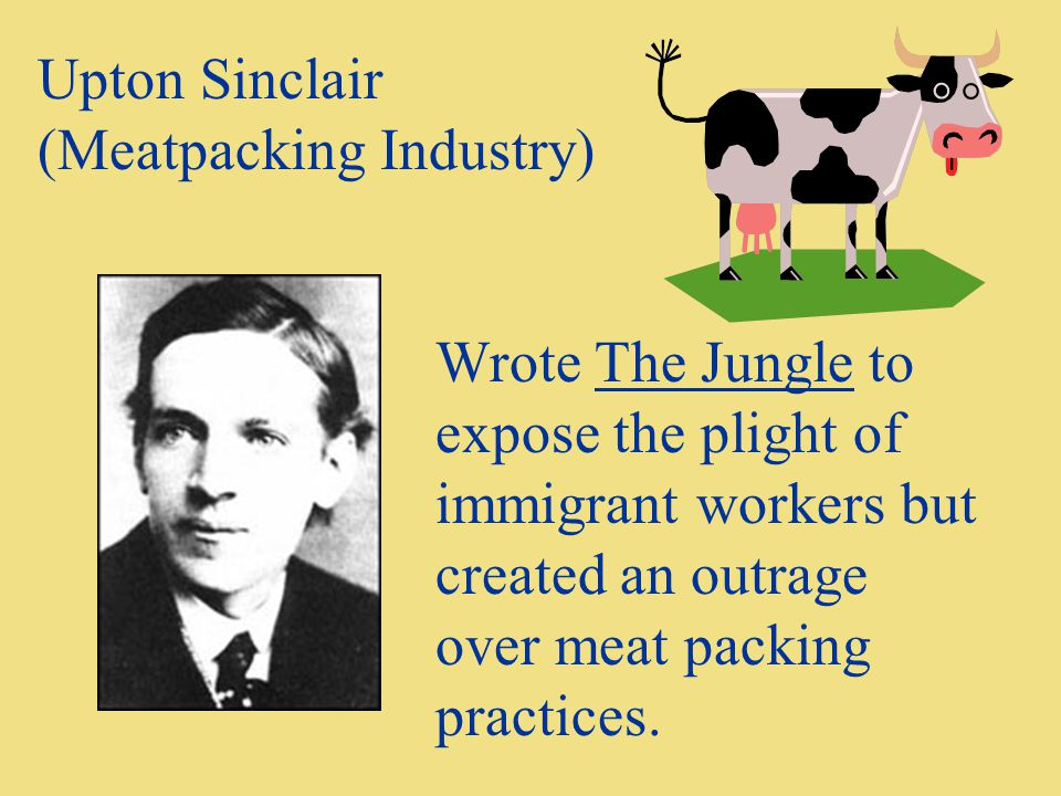 Upton Sinclair (Meatpacking Industry)
