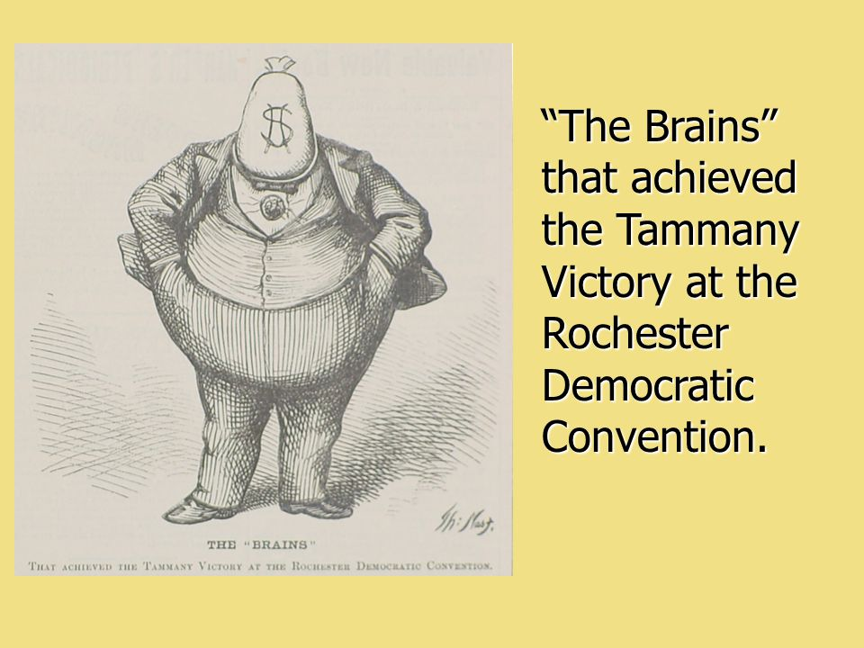 The Brains that achieved the Tammany Victory at the Rochester Democratic Convention.