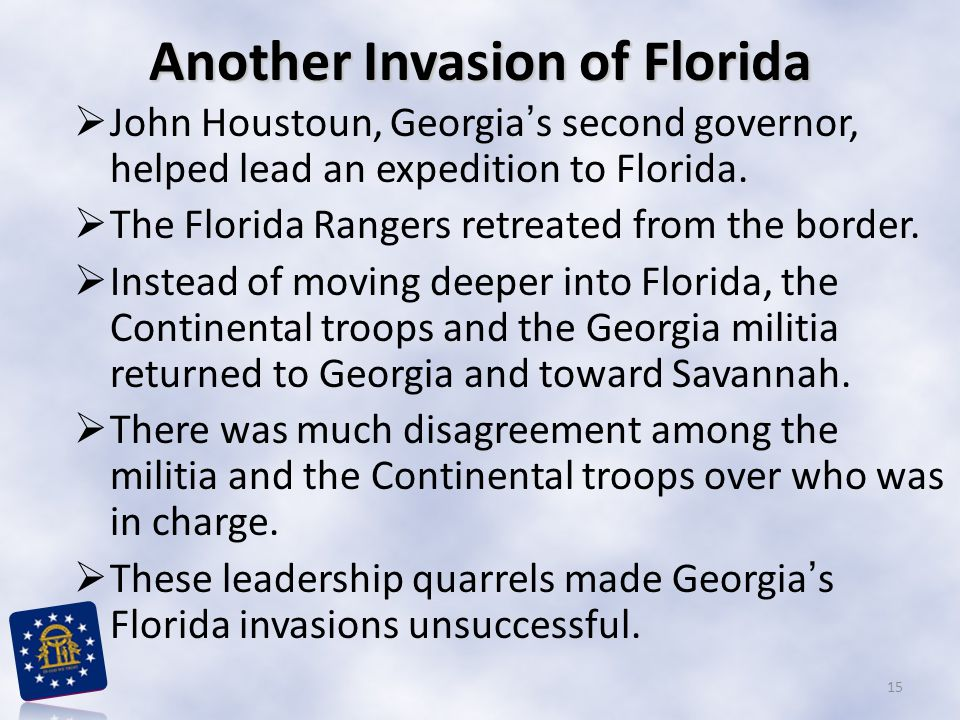 Another Invasion of Florida