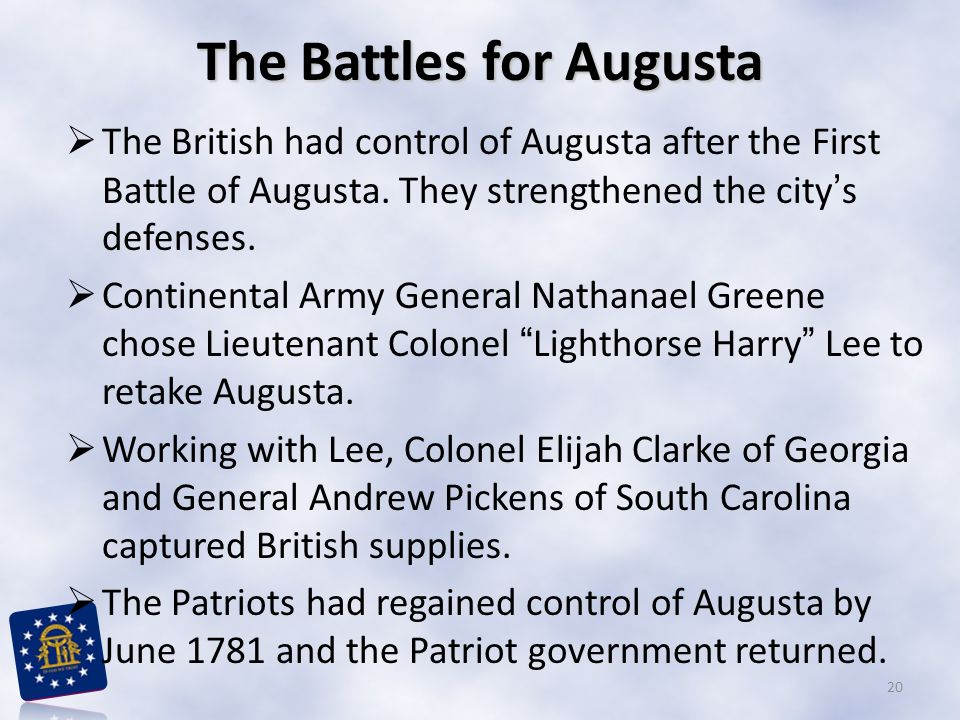 The Battles for Augusta