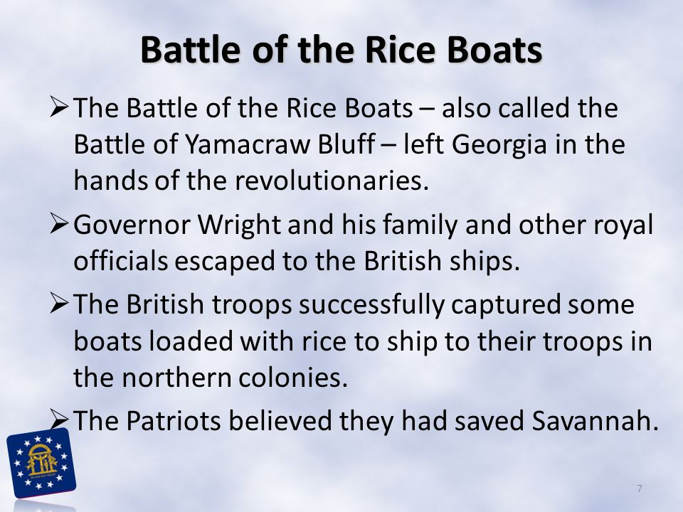 Battle of the Rice Boats