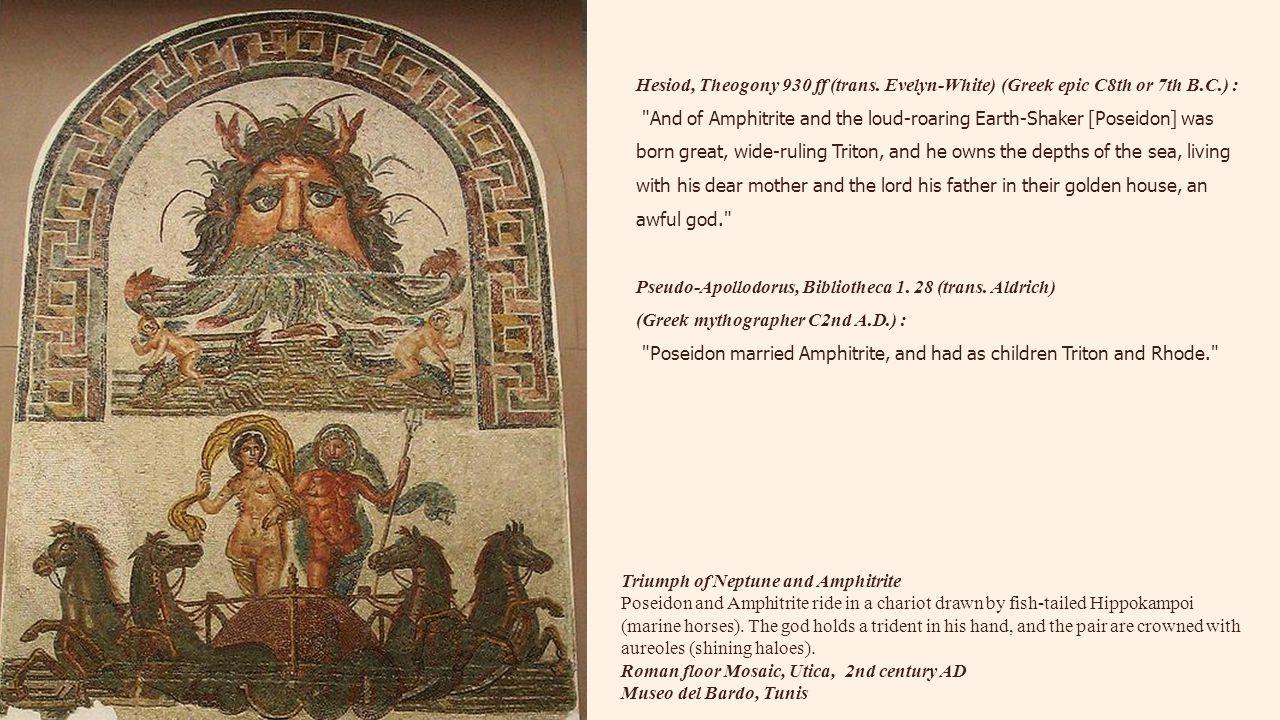 Hesiod, Theogony 930 ff (trans. Evelyn-White) (Greek epic C8th or 7th B.C.) :