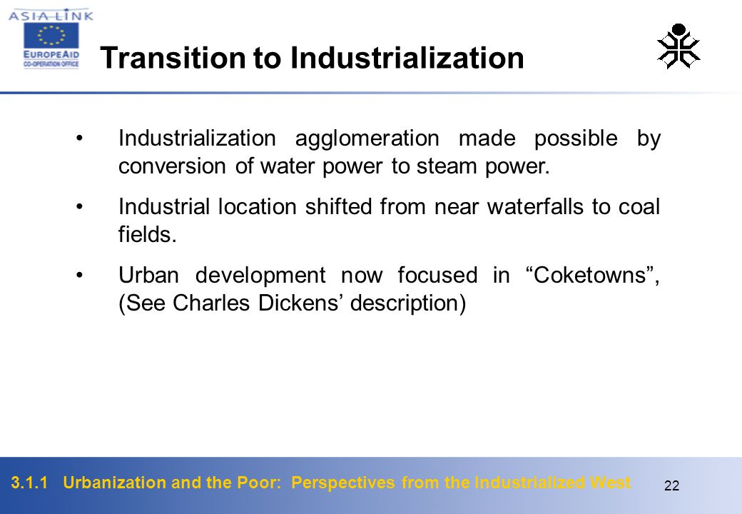 Transition to Industrialization