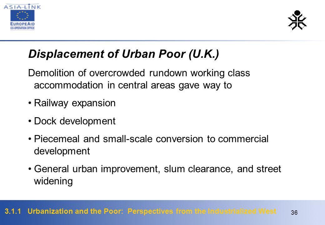 Displacement of Urban Poor (U.K.)