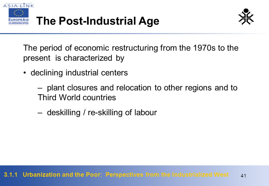 The Post-Industrial Age