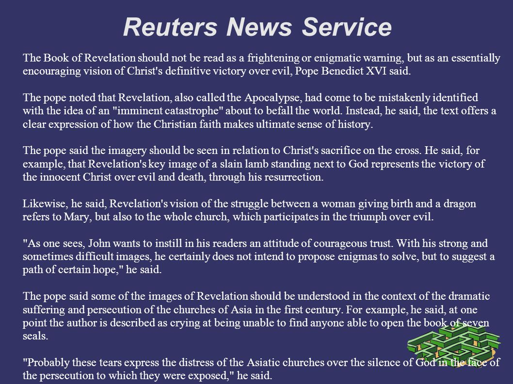 Reuters News Service