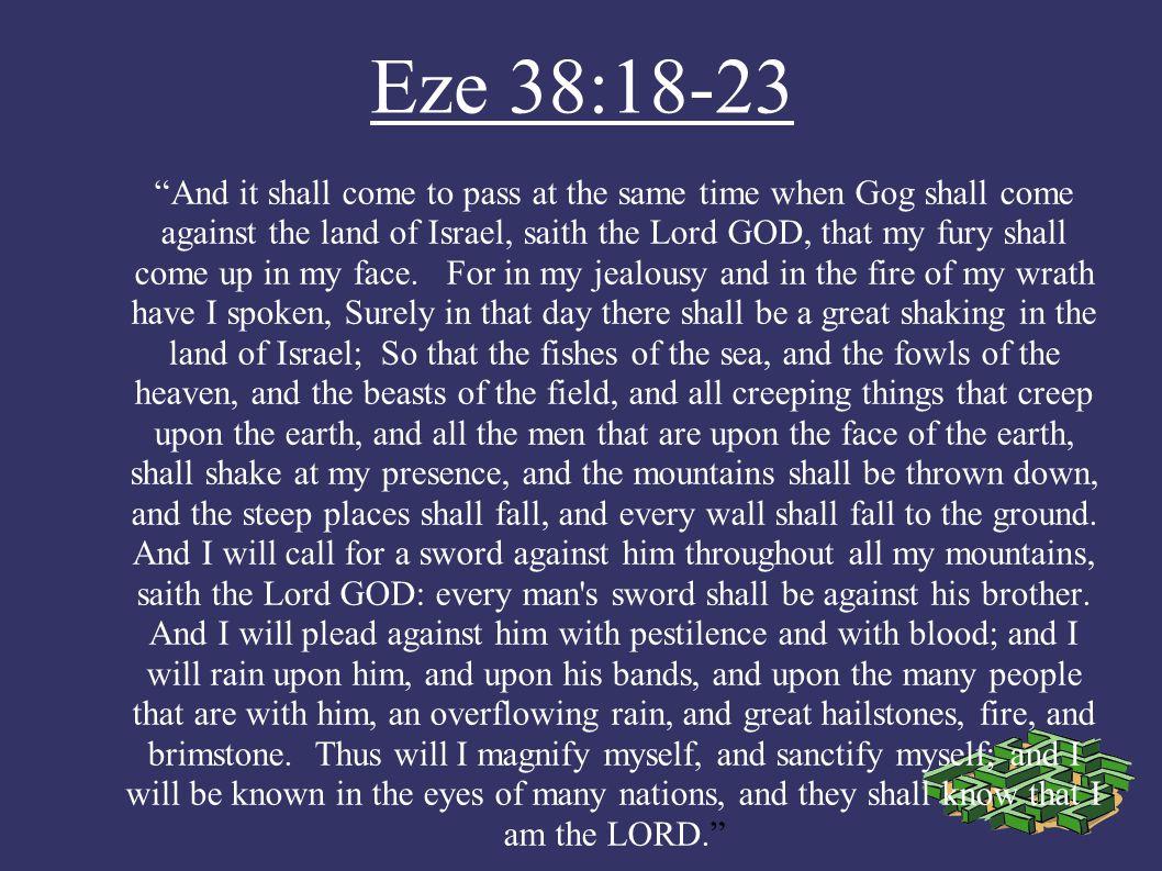 Eze 38:18-23