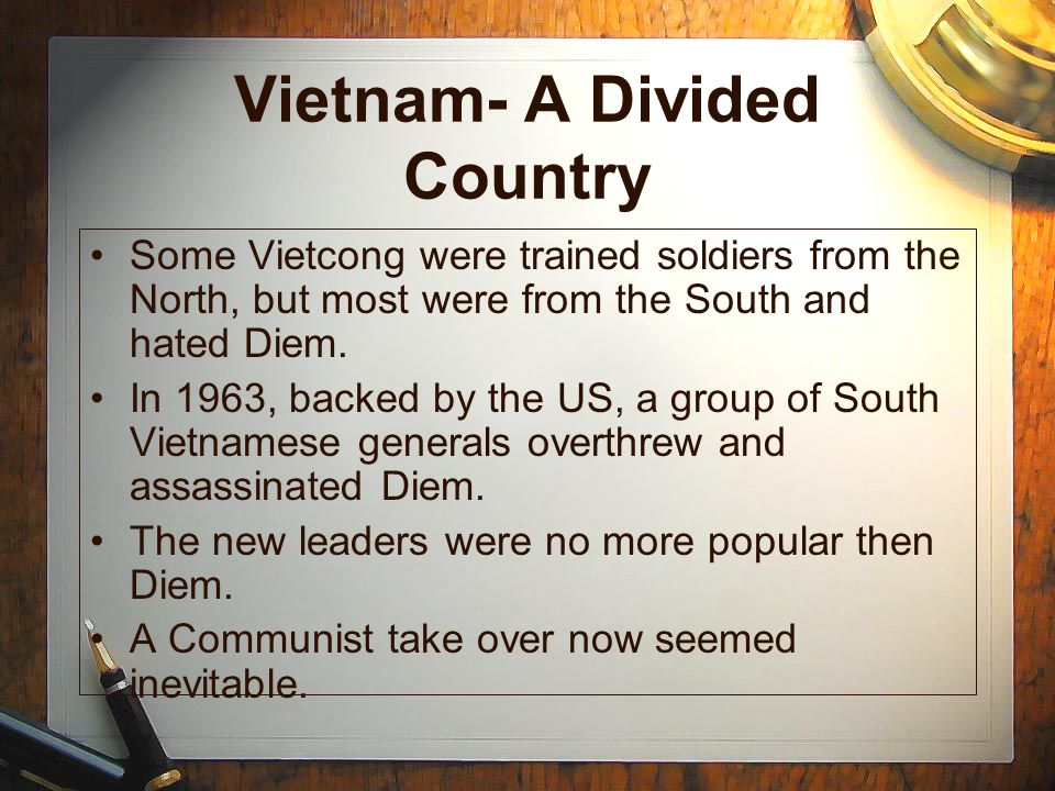 Vietnam- A Divided Country