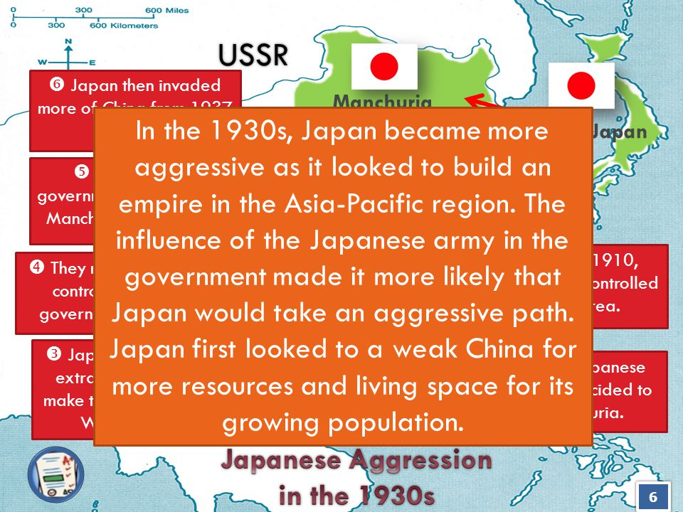 Japanese Aggression in the 1930s Japanese Aggression in the 1930s