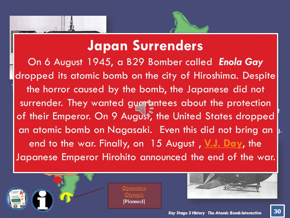 Japan Surrenders JAPAN