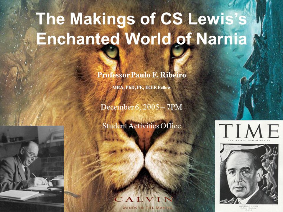 The Makings of CS Lewis's Enchanted World of Narnia