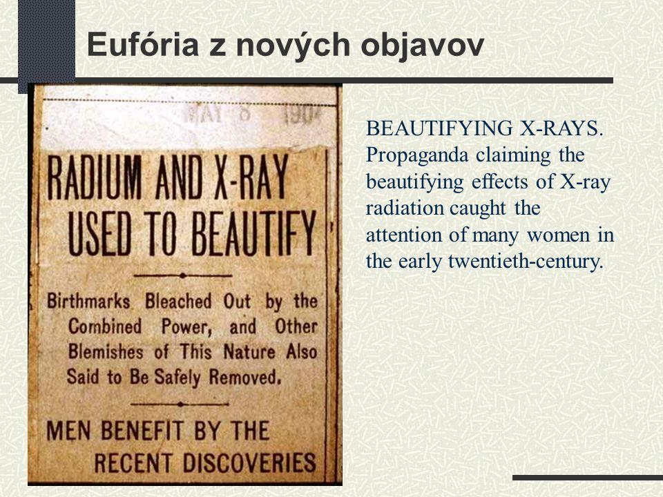Eufória z nových objavov