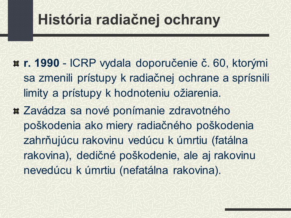 História radiačnej ochrany