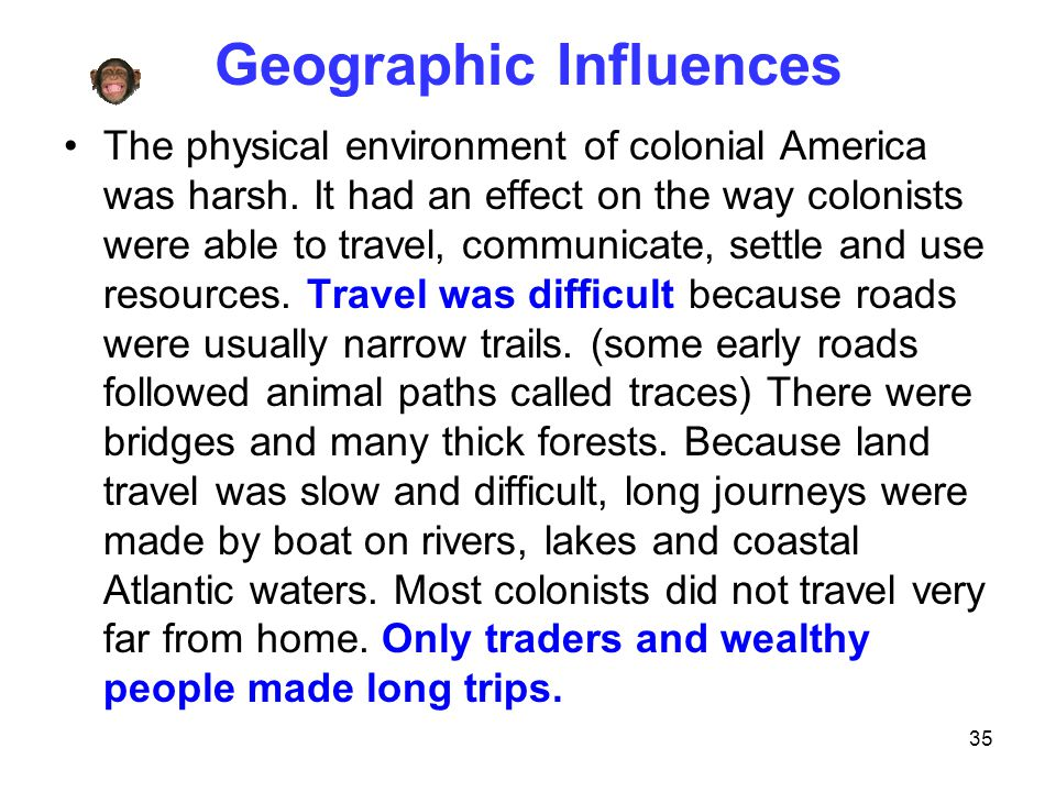 Geographic Influences
