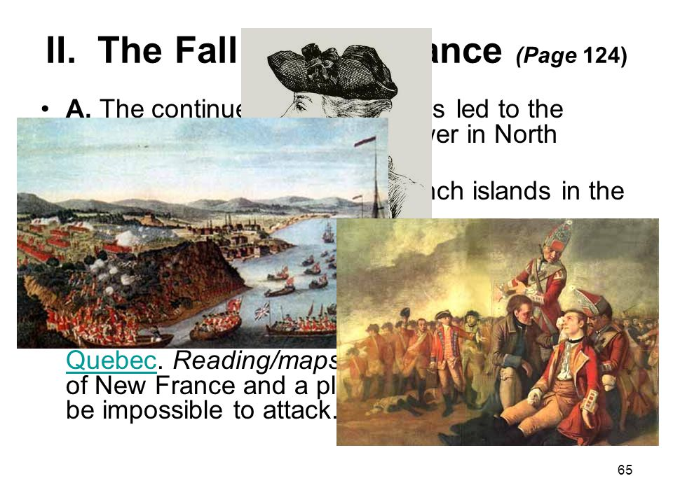 II. The Fall of New France (Page 124)