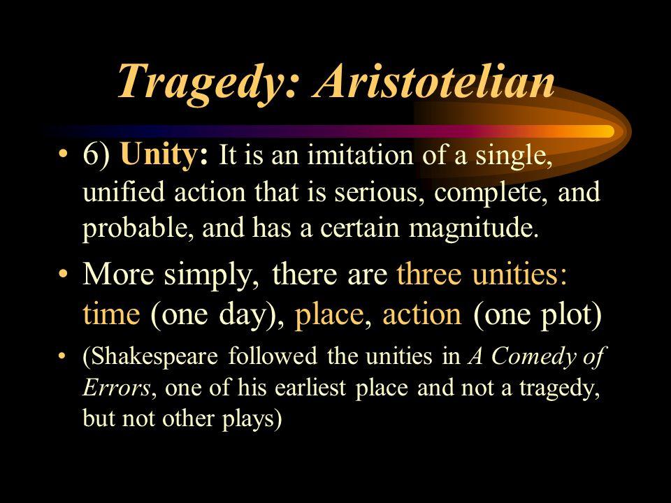Tragedy: Aristotelian