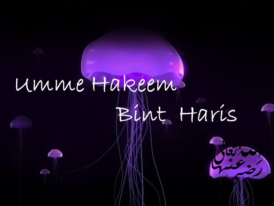Umme Hakeem Bint Haris
