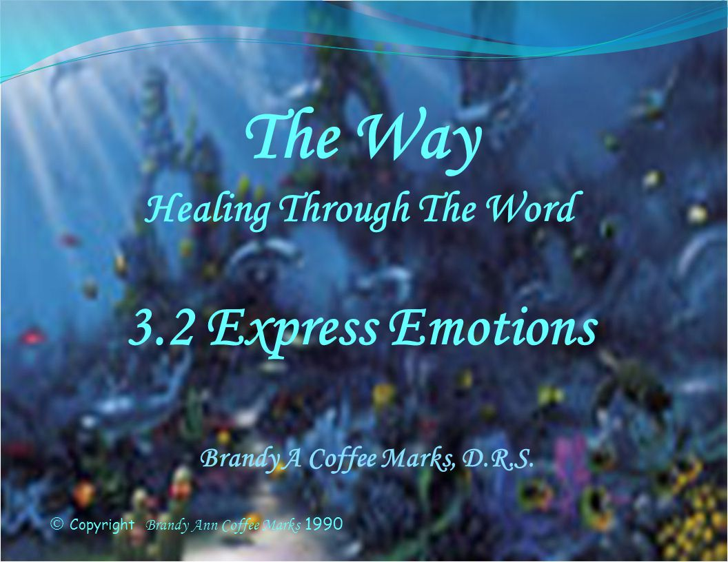 Healing Through The Word Brandy A Coffee Marks, D.R.S.