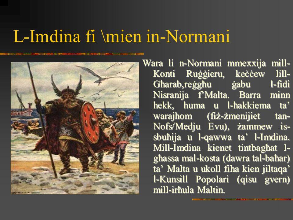 L-Imdina fi \mien in-Normani