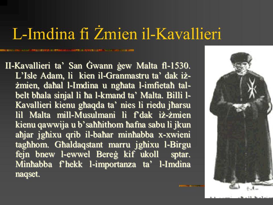 L-Imdina fi Żmien il-Kavallieri