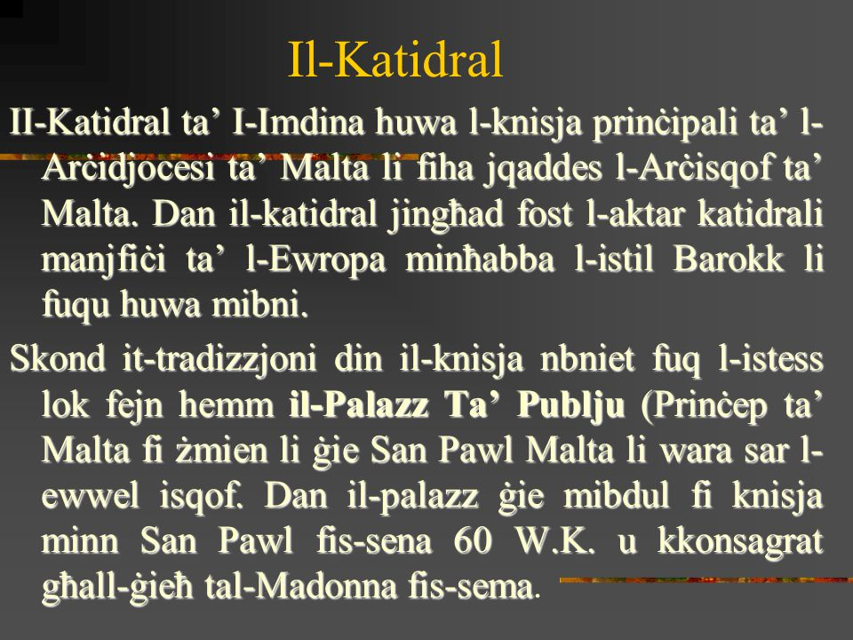 Il-Katidral