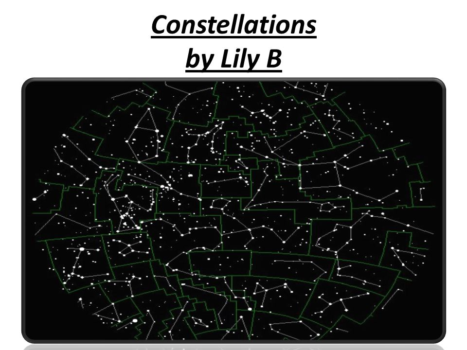 Constellations by Lily B