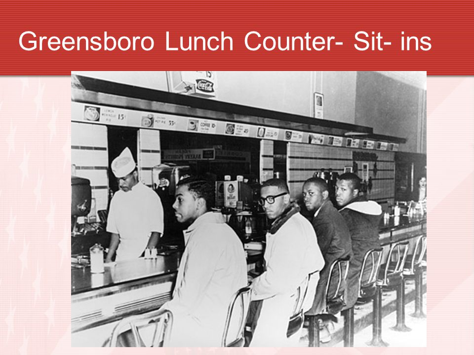 Greensboro Lunch Counter- Sit- ins