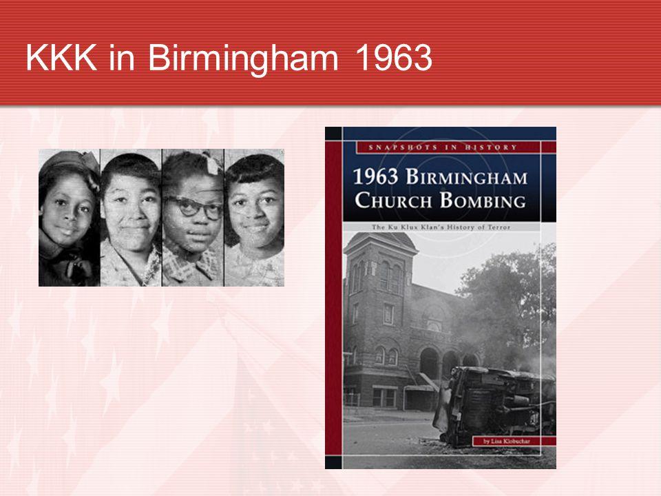 KKK in Birmingham 1963