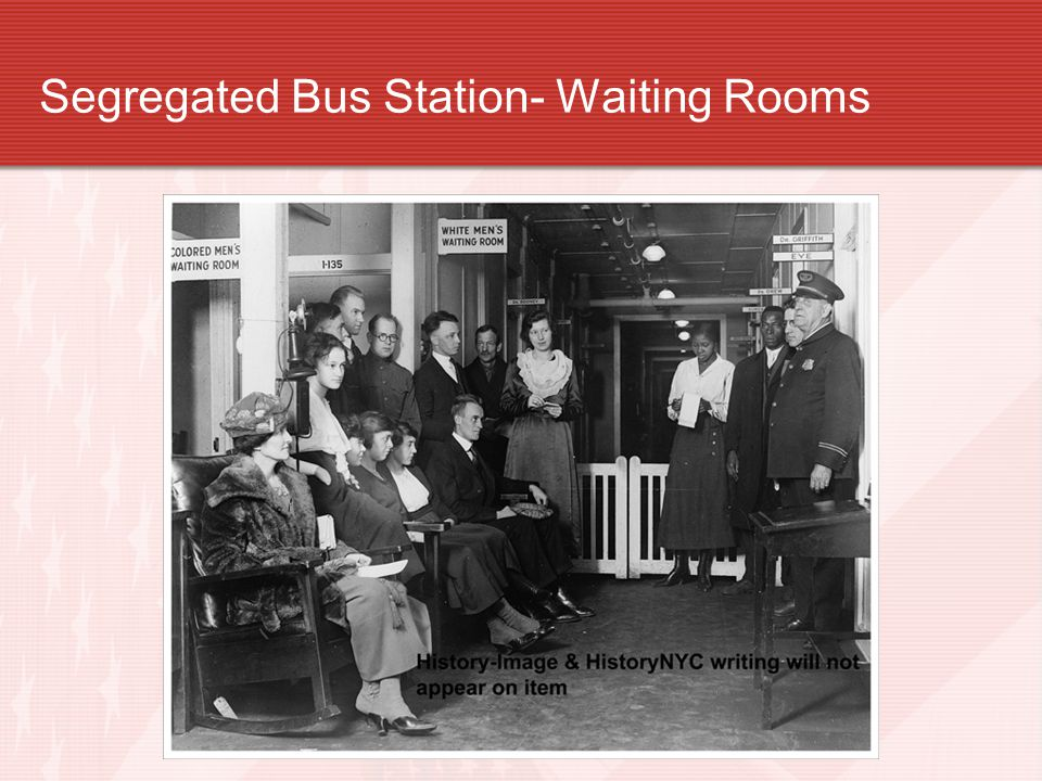 Segregated Bus Station- Waiting Rooms