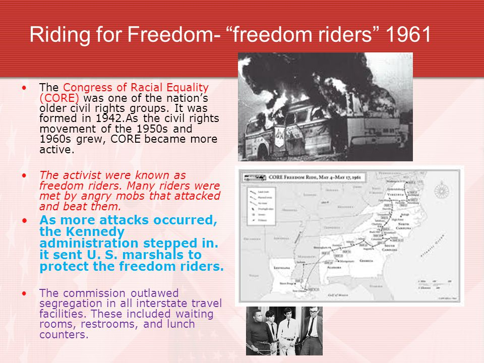 Riding for Freedom- freedom riders 1961