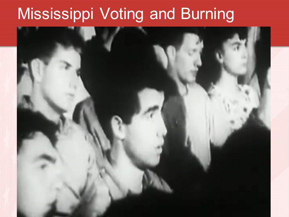 Mississippi Voting and Burning